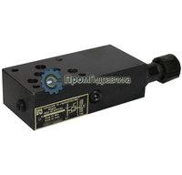 Гидроклапаны предохранительные модульного монтажа МКПВ